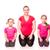 abdominaal · training · vrouw · kinderen · meisje - stockfoto © len44ik