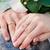 mãos · noiva · noivo · anéis · buquê · de · casamento · mão - foto stock © Len44ik