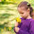 beautiful child with dandelion flower stock photo © len44ik