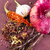 various spices and herbs onion and garlik stock photo © len44ik