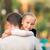 健康 · 父 · 娘 · 公園 · 赤ちゃん - ストックフォト © len44ik