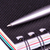 personnelles · organisateur · stylo · isolé · sombre · bleu - photo stock © len44ik