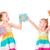 happy kids holding alphabet letters abc stock photo © len44ik