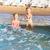 imádnivaló · gyerek · napozás · tengerpart · napszemüveg · társalgó - stock fotó © len44ik