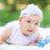 cute · piccolo · baby · parco · outdoor · erba - foto d'archivio © Len44ik