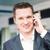 gelukkig · jonge · zakenman · praten · mobiele · telefoon · business - stockfoto © len44ik