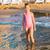 meisje · spelen · strand · zee · meisje · kind - stockfoto © len44ik