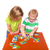 fiú · játszik · játékok · asztal · ül · munka - stock fotó © len44ik