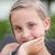 ritratto · bella · bambina · spiaggia · ragazza - foto d'archivio © Len44ik