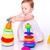 cute · spelen · bouwstenen · geïsoleerd · witte - stockfoto © len44ik