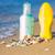 üveg · víz · homokos · tengerpart · hideg · tengeri · csillag · divat - stock fotó © len44ik