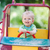 baba · fiú · vezetés · játék · autó · játszótér - stock fotó © Len44ik