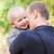 feliz · filho · pai · ao · ar · livre · criança · papai - foto stock © Len44ik