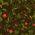 dark floral seamless background with red flower buds stock photo © lenapix
