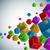 színes · szivárvány · vízszintes · copy · space · eps10 · akta - stock fotó © lenapix