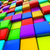 multicolor 3d cubes abstract background stock photo © lenapix