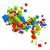 抽象的な · 3D · キューブ · 背景 · 緑 · 赤 - ストックフォト © lenapix