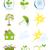 エコ · バイオ · 緑 · リサイクル · シンボル · ツリー - ストックフォト © lenapix