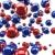 vermelho · azul · esferas · luz · tecnologia - foto stock © lenapix