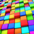 abstract colorful 3d cubes background stock photo © lenapix