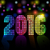 new 2016 year disco colorful mosaic vector background stock photo © lenapix