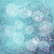 blue vintage winter colored floral vector background stock photo © lenapix