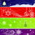 christmas · briefkaart · groene · Rood - stockfoto © lenapix