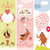 set of valentines day vertical banners stock photo © lenlis