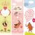 conjunto · dia · dos · namorados · vertical · banners · flores · feliz - foto stock © Lenlis