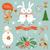 gelukkig · christmas · wensen · collectie · vakantie - stockfoto © lenlis