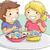 ragazzo · mangiare · dolci · cartoon · uomo · candy - foto d'archivio © lenm