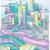 футуристический · Cityscape · аннотация · иллюстрация · Skyline · дороги - Сток-фото © lenm