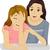 tinilány · megfélemlítés · illusztráció · tinilány · sír · lány - stock fotó © lenm
