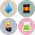 carburant · icônes · graphiques · 12 · environnement - photo stock © lenm