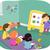 фундаментальный · иллюстрация · детей, · играющих · объекты · различный - Сток-фото © lenm