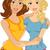 legjobb · barátok · kezek · mosoly · gyerekek · iskola · boldog - stock fotó © lenm