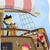 pirata · buque · volante · ilustración · diseno · vela - foto stock © lenm