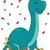 динозавр · рождения · стиль · изображение · французский · повар - Сток-фото © lenm