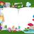 mesekönyv · fehér · iskola · laptop · hold · háttér - stock fotó © lenm