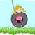 ragazzo · giocare · swing · illustrazione · cielo · sfondo - foto d'archivio © lenm