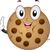 Cookie · талисман · иллюстрация · продовольствие · десерта - Сток-фото © lenm