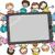 コンピュータ · 子供 · 少人数のグループ · 子供 · 技術 - ストックフォト © lenm