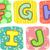 quilt alphabet letters f g h i j stock photo © lenm