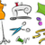 Dressmaking Stickers Design Elements stock photo © lenm