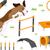 объекты · иллюстрация · различный · используемый · дизайна - Сток-фото © lenm