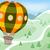 hot air balloon mountains stock photo © lenm