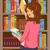 kitaplar · raflardan · örnek · okul · çocuk · boyama - stok fotoğraf © lenm