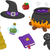 witchcraft items design elements stock photo © lenm
