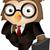 owl briefcase stock photo © lenm