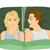 russare · marito · moglie · sveglio · design · arte - foto d'archivio © lenm